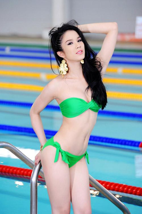 Diệp Anh diện bikini khoe ba vòng sexy - 3