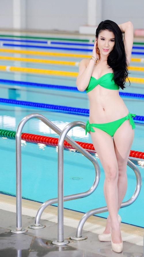 Diệp Anh diện bikini khoe ba vòng sexy - 17