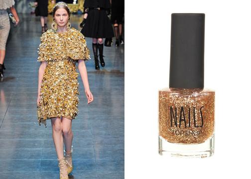 Soi màu nail đẹp từ sàn catwalk - 10