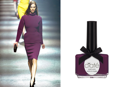 Soi màu nail đẹp từ sàn catwalk - 11