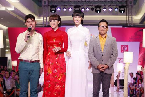 Ngọc Quyên mặc áo dài trị giá 27,5 triệu - 4