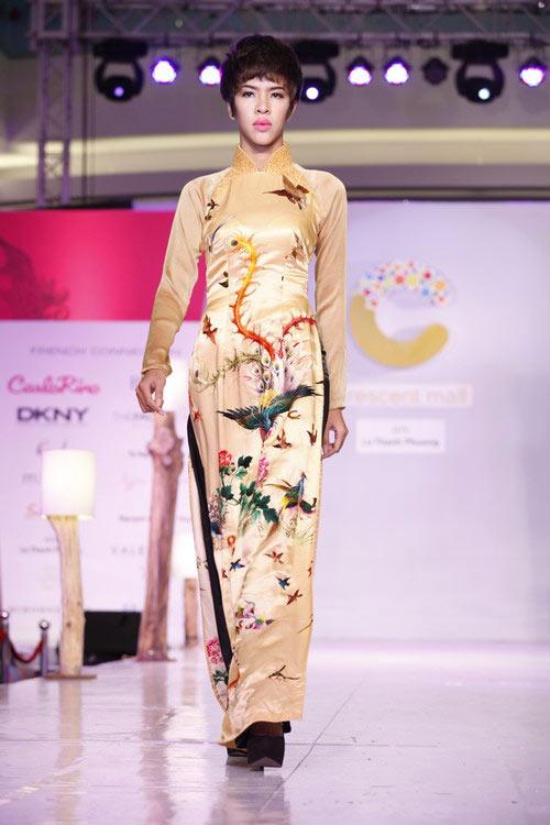 Ngọc Quyên mặc áo dài trị giá 27,5 triệu - 8