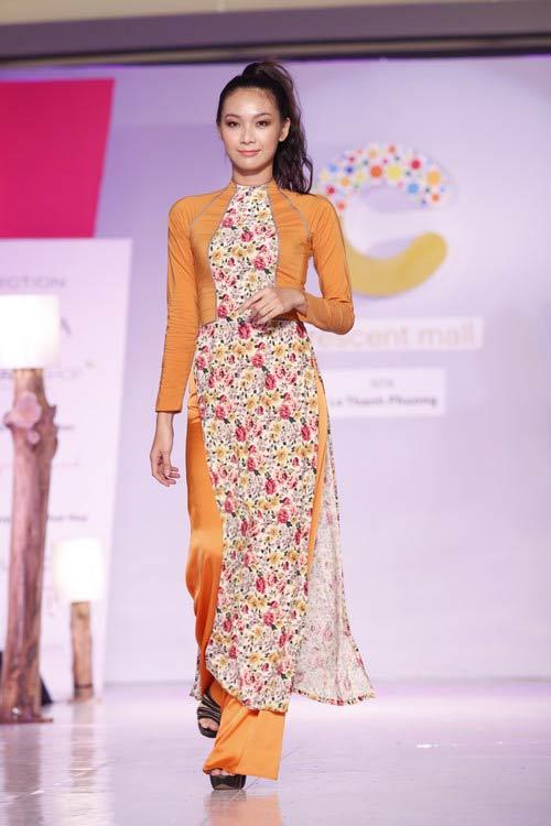 Ngọc Quyên mặc áo dài trị giá 27,5 triệu - 14