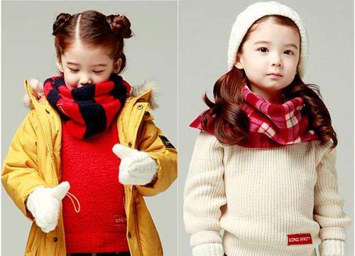 Chọn áo mùa đông xinh tươi cho bé - 2