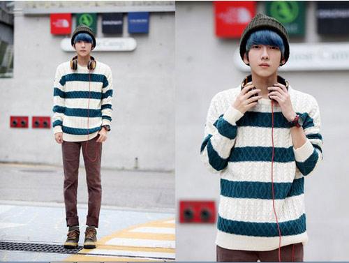 Mặc đồ đông đẹp như anh chàng Hàn Quốc - 1