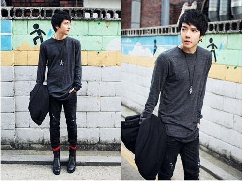 Mặc đồ đông đẹp như anh chàng Hàn Quốc - 2