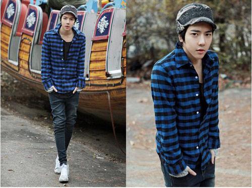 Mặc đồ đông đẹp như anh chàng Hàn Quốc - 4