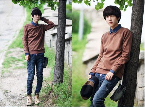 Mặc đồ đông đẹp như anh chàng Hàn Quốc - 6