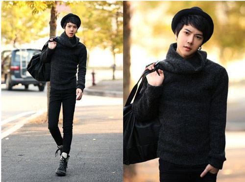 Mặc đồ đông đẹp như anh chàng Hàn Quốc - 8