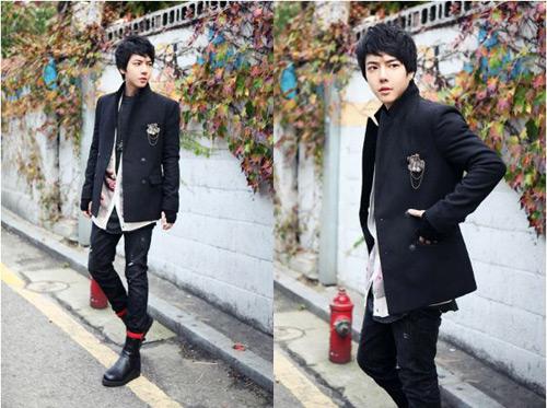 Mặc đồ đông đẹp như anh chàng Hàn Quốc - 9