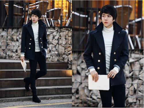 Mặc đồ đông đẹp như anh chàng Hàn Quốc - 10