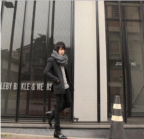 Mặc đồ đông đẹp như anh chàng Hàn Quốc - 12