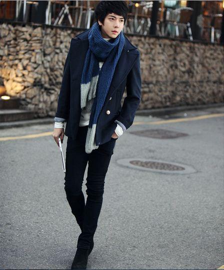 Mặc đồ đông đẹp như anh chàng Hàn Quốc - 13