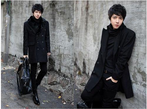 Mặc đồ đông đẹp như anh chàng Hàn Quốc - 14