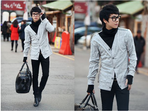 Mặc đồ đông đẹp như anh chàng Hàn Quốc - 16