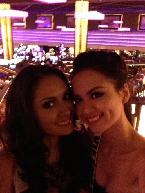 Diễm Hương xinh tươi tại Las Vegas - 12