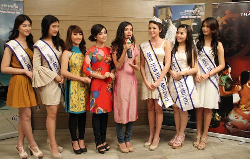 Miss Teen Việt khoe sắc trên đất Thái - 2