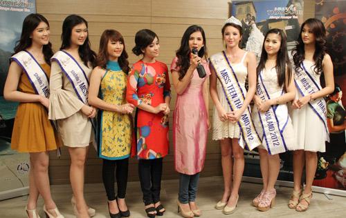 Miss Teen Việt khoe sắc trên đất Thái - 3