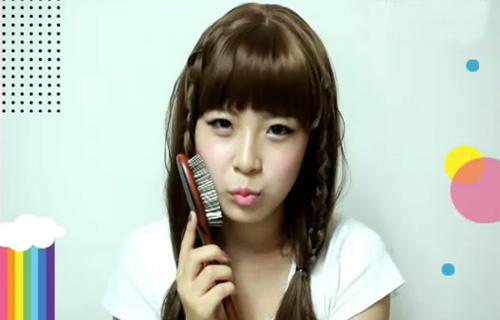 Tết tóc đẹp và điệu như sao Hàn - 1