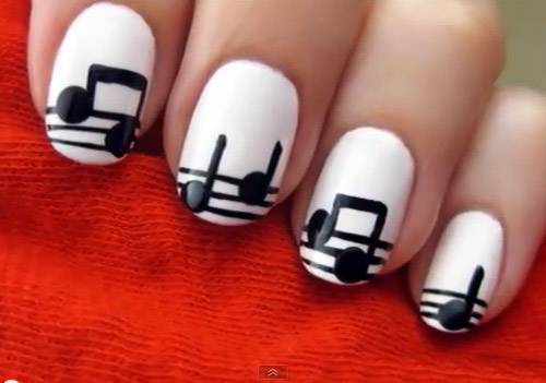 """Yêu đời với kiểu nail """"nốt nhạc"""" - 1"""