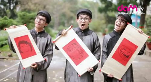Clip xuân hài hước của bạn trẻ Sài Gòn - 2