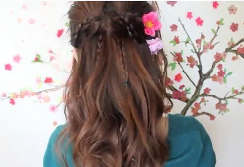Kiểu tóc tết xinh xắn cho ngày đầu năm - 2