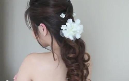 Kiểu tóc sang trọng dành cho cô dâu - 1