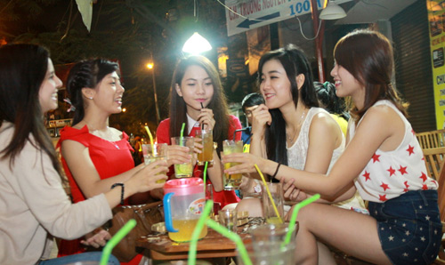 Miss Teen Sài thành rủ nhau trốn nóng - 8
