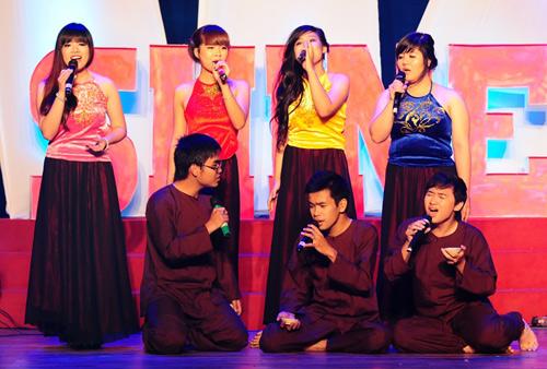 Đa sắc màu đêm chung kết FTU Shine 2013 - 4