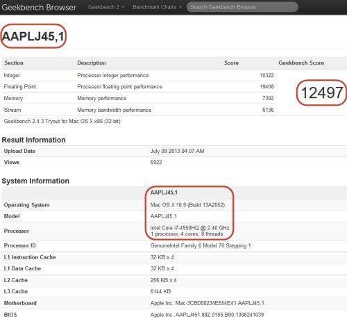Macbook Pro 15-inch cấu hình khủng sử dụng chip Haswell - 2