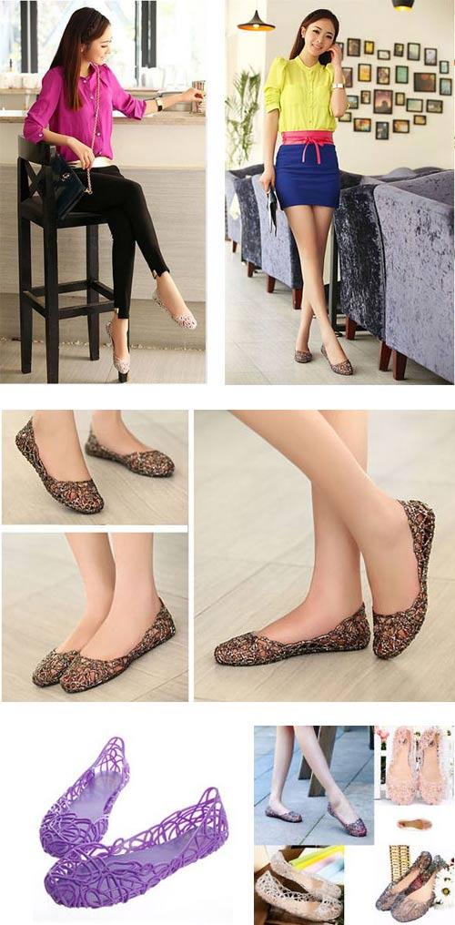 Khoe chân xinh cuối hè bằng giày lưới - 5