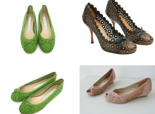 Khoe chân xinh cuối hè bằng giày lưới - 10