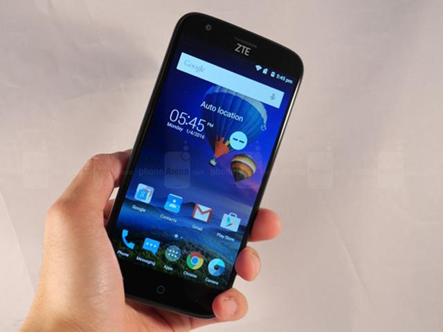 Trên tay điện thoại ZTE Grand X 3 giá 3 triệu đồng