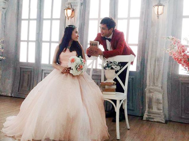 Hồ Quang Hiếu điển trai, hào hoa trong loạt ảnh cưới