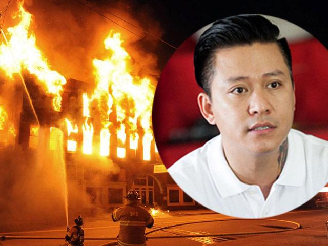 Tuấn Hưng lao vào đám cháy cứu 4 người tại Đà Nẵng