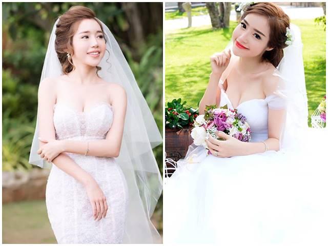 Elly Trần mặc soiree cúp ngực gợi cảm, chuẩn bị cưới chồng?