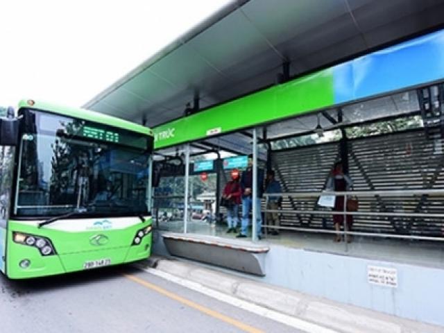 Hà Nội: Mở thêm tuyến buýt nhanh BRT Kim Mã- Hòa Lạc
