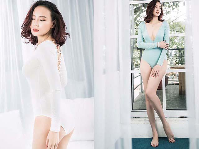 Dương Yến Ngọc sexy mê mệt khoe chân dài, ngực đầy tuổi 38
