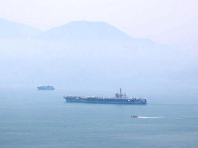 Infographic: Siêu tàu sân bay USS Carl Vinson đến Việt Nam có gì?