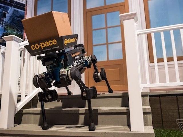 CES 2019 trình diễn chó robot giao hàng, công nghệ sẽ có trong tương lai