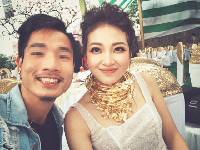 Cô dâu đeo vàng trĩu cổ trong đám cưới 'khủng' ở Nam Định