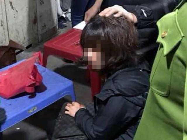 Nghi vấn nổ súng bắn người, cướp tiền giữa đêm ở chợ Long Biên