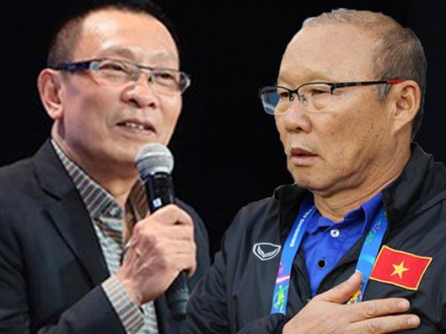 MC Lại Văn Sâm bất ngờ xin lỗi HLV Park Hang Seo trên truyền hình vì lý do này