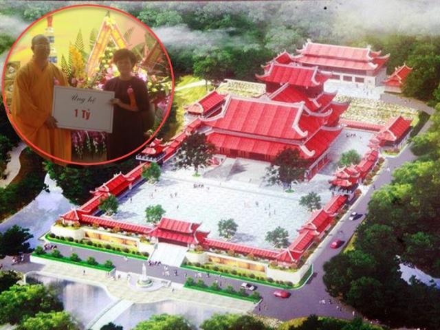 Trụ trì Ba Vàng Quảng Ninh nói gì việc nhận tiền tỷ ủng hộ xây chùa ở Quảng Nam?