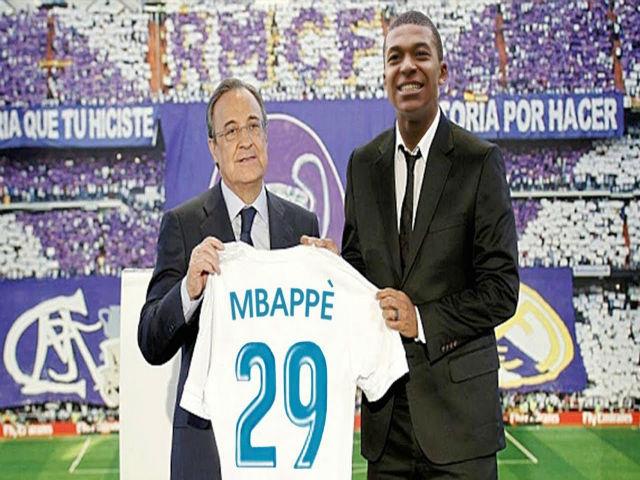 """""""Bom tấn"""" tháng 1 của Real: """"Bố già"""" Perez cao tay săn Mbappe 300 triệu euro"""