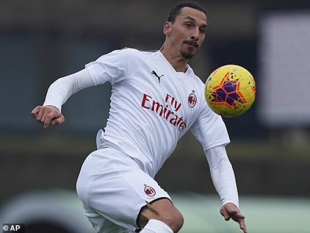 Đẳng cấp Ibrahimovic 38 tuổi: Ra mắt AC Milan ghi bàn đại thắng 9-0