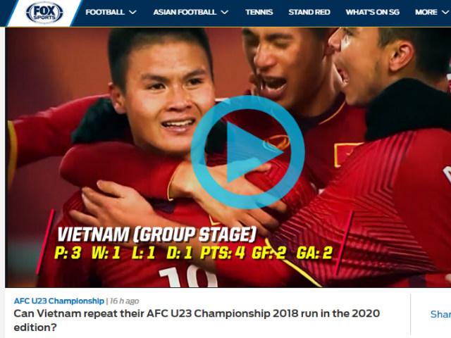 Báo châu Á gợi nhớ kỳ tích Thường Châu: Vinh danh U23 Việt Nam, Quang Hải