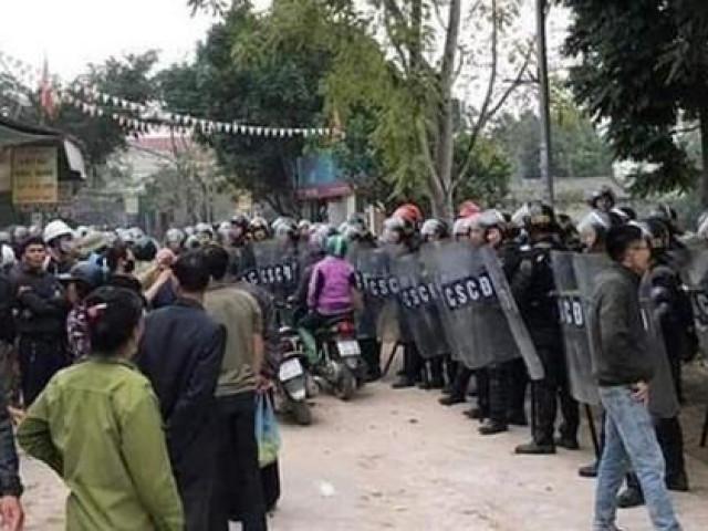 Vụ chống đối nghiêm trọng ở xã Đồng Tâm: Bác bỏ thông tin có nhiều hơn 3 công an hy sinh