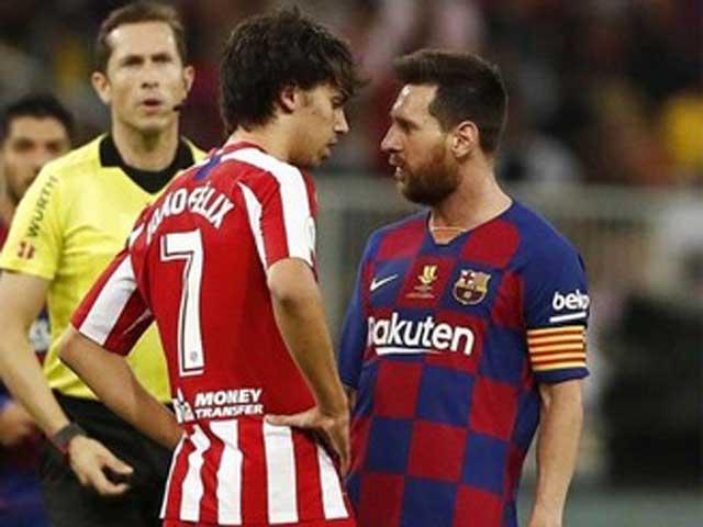 """Messi bị """"hậu duệ"""" Ronaldo cà khịa cực mạnh: Suýt choảng nhau"""