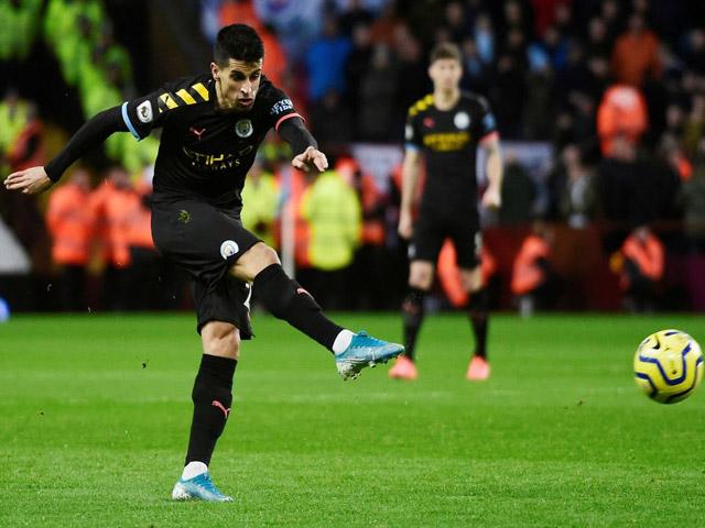 Trực tiếp bóng đá Aston Villa - Man City: Bàn thắng thứ tư